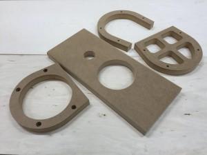30 mm MDF Kõlari detailid